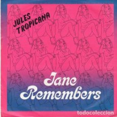 Discos de vinilo: JULES TROPICANA - JANE REMEMBERS - SINGLE PROMO BLANCO Y NEGRO SPAIN 1983. Lote 195079703