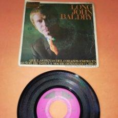 Discos de vinilo: LONG JOHN BALDRY. QUE LAS PENAS DEL CORAZON EMPIECEN. PYE RECORDS. 1968.. Lote 195080868