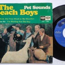Discos de vinilo: THE BEACH BOYS – EP SPAIN PS – EX- * PET SOUNDS * 1967. Lote 195080955