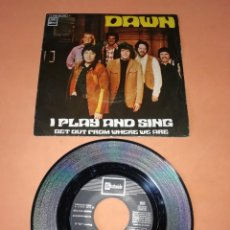 Discos de vinilo: DAWN. I PLAY AND SING. STATESIDE RECORDS 1971. Lote 195082108