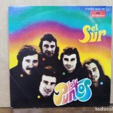 Discos de vinilo: LOS PUNTOS - EL SUR / PEQUEÑA MARÍA - SINGLE DEL SELLO POLYDOR 1976. Lote 195082760