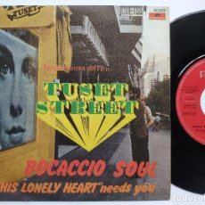 Discos de vinilo: AUGUSTO ALGUERO - 45 SPAIN PS – EX+ * TUSET STREET * TOP FUNK. Lote 195083202