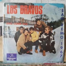 Discos de vinilo: ** LOS BRAVOS - UNO COME NOI / DON'T BE LEFT OUT IN THE COLD - SINGLE 1966 - LEER DESCRIPCIÓN. Lote 195084528