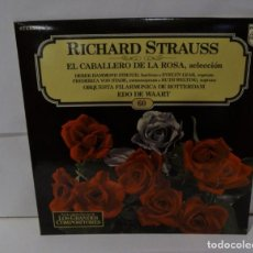 Discos de vinilo: RICHARD STRAUSS - EL CABALLERO DE LA ROSA - FILARMONICA DE ROTTERDAM - PHILIPS -LP 1982-(60). Lote 195085718