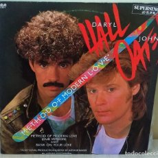 Discos de vinilo: DARYL HALL & JOHN OATES - METHOD OF MODERN LOVE MAXI - R C A PROMOCIONAL -1985. Lote 195086346