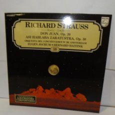Discos de vinilo: LP RICHARD STRAUSS - DON JUAN, OP.20. ASI HABLABA ZARATUSTRA, OP.30. LP 1982 (59). Lote 195086501