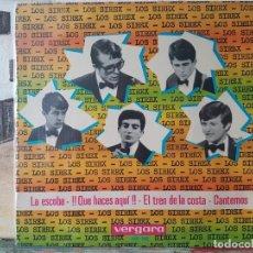 Discos de vinilo: ** LOS SIREX - LA ESCOBA / EL TREN DE LA COSTA + 2 - EP 1965 - LEER DESCRIPCIÓN. Lote 195086663