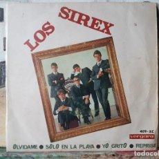 Discos de vinilo: ** LOS SIREX - OLVIDAME / YO GRITO / SOLO EN LA PLAYA / REPRISE - EP 1966 - LEER DESCRIPCIÓN. Lote 195087331