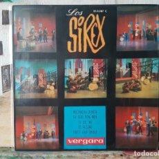 Discos de vinilo: ** LOS SIREX - MUCHACHA BONITA / TWIST AND SHOUT + 2 - EP 1964 - LEER DESCRIPCIÓN. Lote 195087837