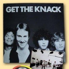 Discos de vinilo: THE KNACK - GET THE KNACK 1979!! MY SHARONA !! POWER POP / 1ª EDIC ORIG USA + ENCARTE !! EXC. Lote 195088557