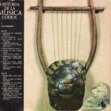 Discos de vinilo: HISTORIA DE LA MUSICA CODEX - LOS ORIGENES (EP ESPAÑOL, EDITORIAL CODEX SIN FECHA). Lote 195088823
