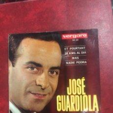 Discos de vinilo: JOSÉ GUARDIOLA SINGLE EP DE 1964. Lote 195096718