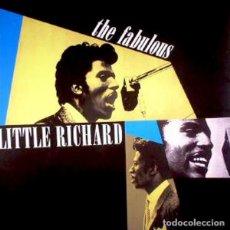 Discos de vinilo: LITTLE RICHARD THE FABULOUS LITTLE RICHARD LP . ROCK AND ROLL JERRY LEE LEWIS. Lote 195096977