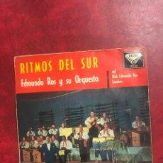Discos de vinilo: EDMUNDO ROS SINGLE EP DE 1960. Lote 195099291