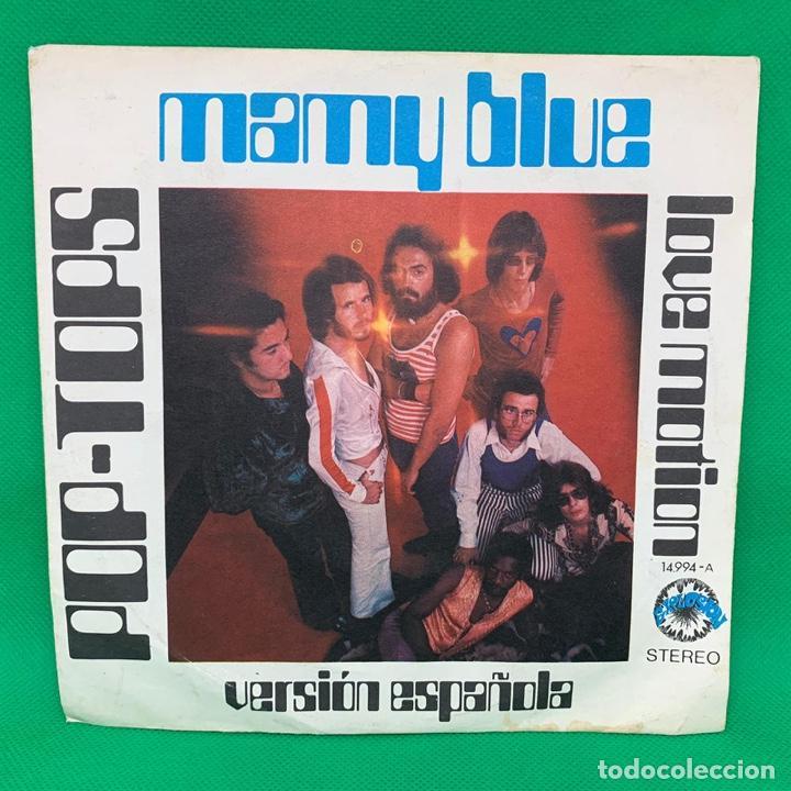 MAY BLUE - LOVE MOTION - POP TOPS. VERSIÓN ESPAÑOLA. SINGLE VG+ (Música - Discos - Singles Vinilo - Solistas Españoles de los 50 y 60)