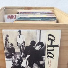 Discos de vinilo: A-HA HUNTING HIGH AND LOW. Lote 195099688