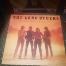 Discos de vinilo: THE LONG RYDERS..STATE OF OUR UNION.ISLAND RECORDS ILPS 9802.ESPAÑA 1985.IMPECABLE.. Lote 195099863