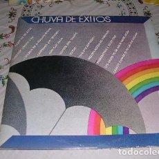 Discos de vinilo: CHUVA DE EXITOS DOBLE LP. Lote 195099987