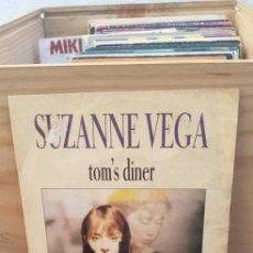 Discos de vinilo: SUZANE VEGA TOM´S DINER. Lote 195100158