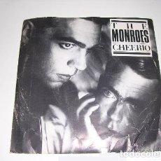 Discos de vinilo: THE MONROES CHEERIO SINGLE DE 1985. Lote 195100621