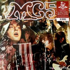 Discos de vinilo: MC5 KICK OUT THE JAMS LP . HIGH ENERGY THE STOOGES WAYNE KRAMER ROB TYNER. Lote 195100686