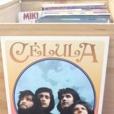 Discos de vinilo: EP CÉLULA - CÉLULA / VINILO / ÓPERA ROCK - ROCK PROGRESIVO / MADMUA RECORDS 2017 / NUEVO. Lote 195100850