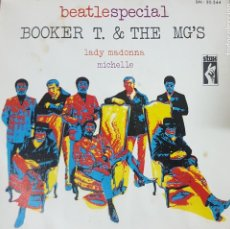 Discos de vinilo: BEATLES COVER - BEATLESSPECIAL - BOOKER T. & THE MG'S - MUY BUEN ESTADO 1970. Lote 195101132