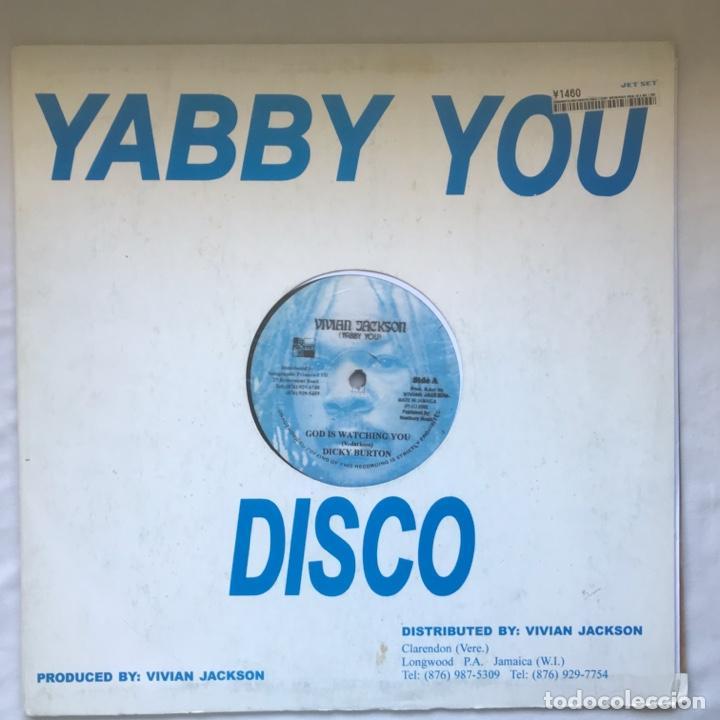 DICKY BURTON / AGUSTUS PABLO / VIVIAN JACKSON – GOD IS WATCHING YOU / PABLO DREAD IN A RED (Música - Discos de Vinilo - Maxi Singles - Reggae - Ska)