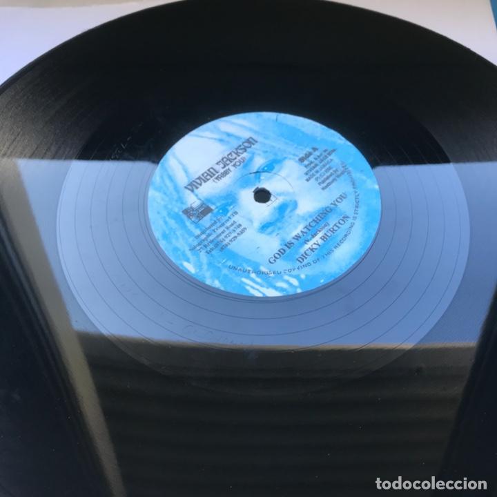 Discos de vinilo: Dicky Burton / Agustus Pablo / Vivian Jackson – God Is Watching You / Pablo Dread In A Red - Foto 3 - 195101556