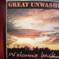 Discos de vinilo: GREAT UNWASHED- WELCOME BACK TO REAL LIFE AGAIN. LP.. Lote 195101747