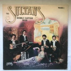 Discos de vinilo: THE SULTANS MIDDLE EASTERN BAND ?– VOLUME 1 1981 US. Lote 195102341