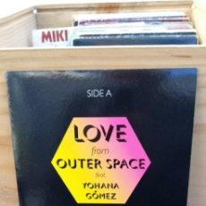 Discos de vinilo: BLACK NYLON CORPORATION LOVE OUTER SPACE / BUSINESS WOMAN. Lote 195102396