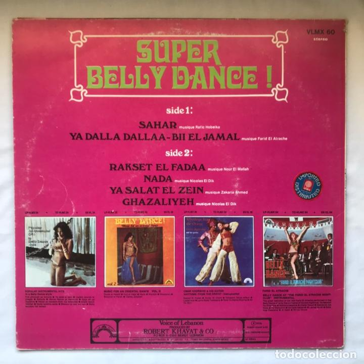 Discos de vinilo: Super Belly Dance 1976 LEBANON - Foto 2 - 195102563