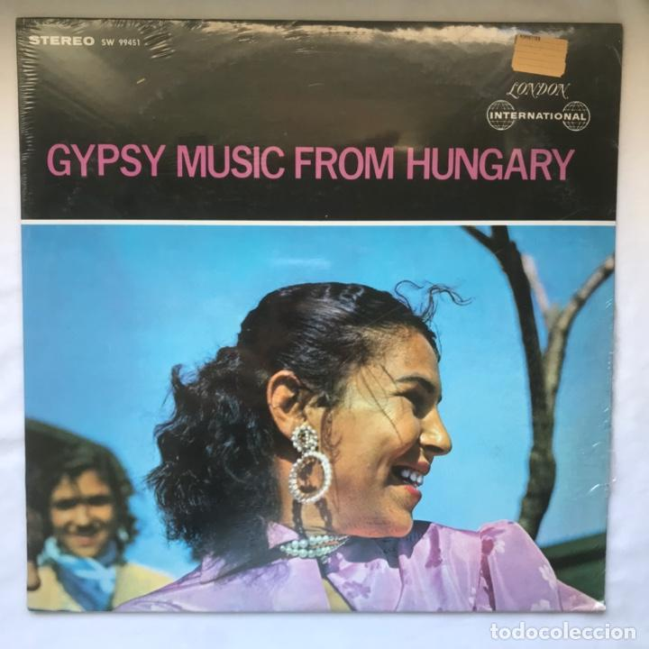 KARPATY MIHALY AND HIS ORCHESTRA – GYPSY MUSIC FROM HUNGARY (Música - Discos - LP Vinilo - Étnicas y Músicas del Mundo)