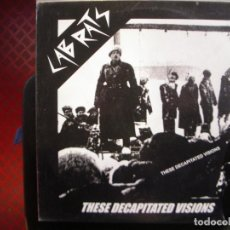 Discos de vinilo: LABRATS- THESE DECAPITATED VISIONS. LP.. Lote 195102747