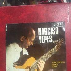 Discos de vinilo: NARCISO YEPES SINGLE EP DE 1965. Lote 195102805