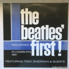 Discos de vinilo: THE BEATLES FEATURING TONY SHERIDAN ‎– THE BEATLES' FIRST! 1980. Lote 195103015