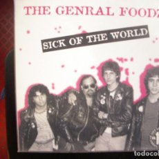 Discos de vinilo: THE GENRAL FOOD- SICK OF THE WORLD. LP.. Lote 195103065