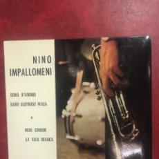 Discos de vinilo: NINO IMPALLOMENI SINGLE EP DE 1963. Lote 195103496