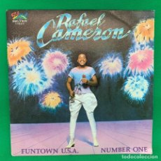 Discos de vinilo: RAFAEL CAMERON - FUNTOWN U.S.A NOMBER ONE SINGLE VG+. Lote 195104087