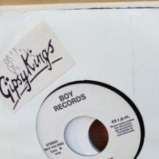 Discos de vinilo: GIPSY KINGS DOJOBI DJOBA / BAMBOLEO DISCO PROMOCIONAL EN PERECTO ESTADO, CON HOJA INFORMATIVA. Lote 195105723