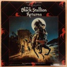 Discos de vinilo: COMO UÑA Y CARNE (THE BLACK STALLION RETURNS) GEORGES DELERUE (MUY RARO). Lote 195107580