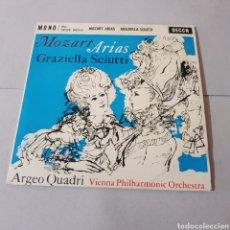 Discos de vinilo: MOZART ARIAS GRAZIELLA SCIUTTI - ARGEO QUADRI - VIENNA PHILHARMONIC ORCHESTRA. Lote 195108463