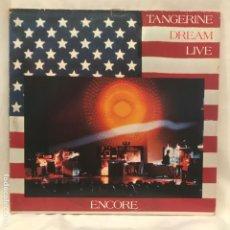Discos de vinilo: TANGERINE DREAM – ENCORE 1977 GAT 2LP. Lote 195108903