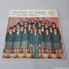 Discos de vinilo: CHRISTMAS EN ESPAÑA - NOCHE DE PAZ - CAMPANAS DE NOCHE BUENA - FESTEJOS AL NIÑO - CANCION DE CUNA. Lote 195109563