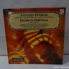 Discos de vinilo: ANTONIN DVORAK SINFONIA NO. 9 EN MI MENOR, OP. 95 - LP 1982 (61). Lote 195109758
