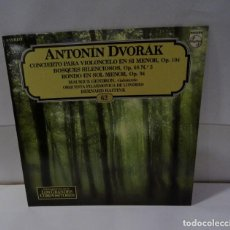 Discos de vinilo: ANTONIN DVORAK. ORQUESTA FILARMONICA DE LONDRES.LP 1982 (62). Lote 195110211