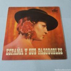 Discos de vinilo: ESPAÑA Y SUS PASODOBLES - LA VOZ DE SU AMO - FRANCISCO ALEGRE - CANTA GUITARRA - BAJO MI CIELO .... Lote 195110996