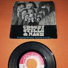 Discos de vinilo: CROSBY, STILLS & NASH. EL EXPRESO DE MARRAKESH. ATLANTIC RECORDS 1969. Lote 195112438