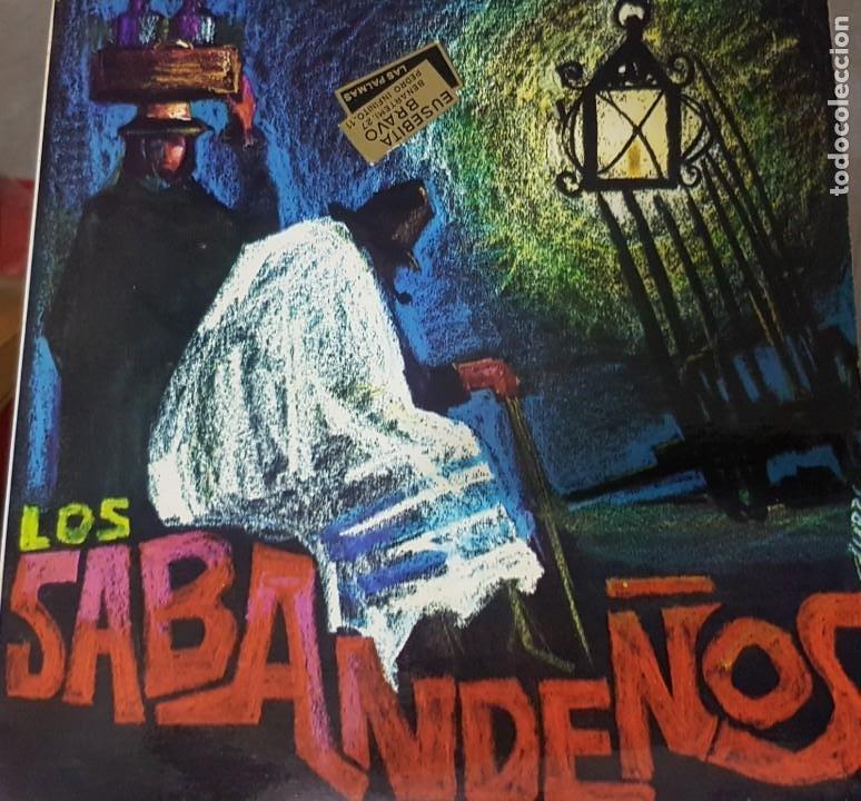 LOS SABANDEÑOS - FONOGUANCHE Y TAM TAM RARO EP 1967 - CANARIAS FOLKLORE (Música - Discos de Vinilo - EPs - Country y Folk)